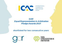 ICAC вдруге фіналіст GAR Awards