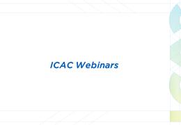 Серія з 4 практичних онлайн-вебінарів 'ICAC Webinars' доступна для перегляду