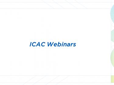 ICAC Webinars